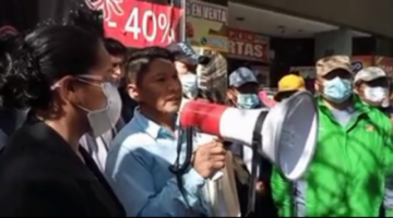 Cocaleros piden que se cite a Canceno por vínculos con Characayo en actos de corrupción