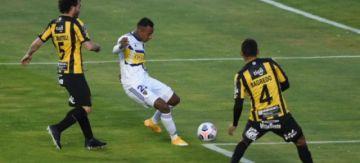 The Strongest se aplazó de local frente a Boca Juniors y perdió por 0-1