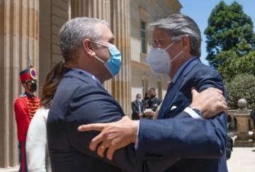 Presidente electo de Ecuador pide apoyo de Colombia para ingresar a la Alianza del Pacífico