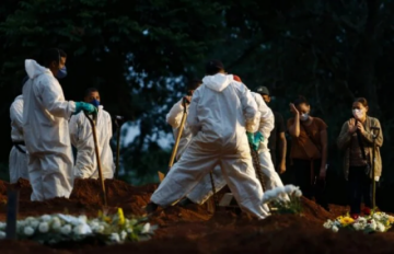 Brasil ya tiene la mayor tasa de mortalidad por covid-19 de las Américas
