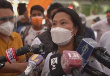 La candidata Keiko Fujimori le dice a Evo Morales: 'No se meta en el Perú'