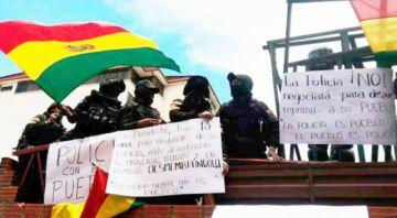 Caso motín: Ya hay un policía acusado para ir a juicio y otros nueve siguen investigados en La Paz