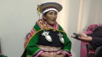 Lidia Patty dice que estaba dispuesta a llevar plantas medicinales para que Jeanine Añez se cure