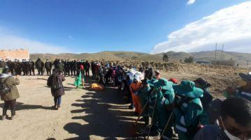 Está en curso la campaña de limpieza de los cuatro accesos a la ciudad de Potosí