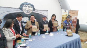 Comunarios de Tarapaya presentan obra sobre su historia