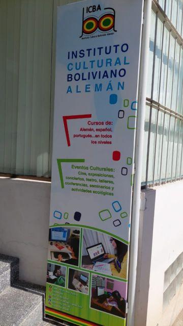Clases  virtuales de alemán con el Instituto Cultural Boliviano Alemán  (ICBA-SUCRE)