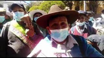 Comunarios anuncian que no permitirán cierre de operación minera