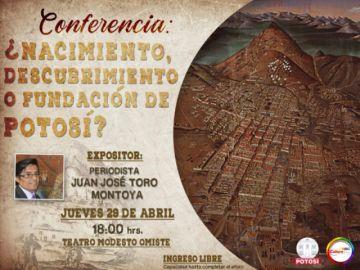 """Hoy se hablará sobre la supuesta falsificación de un documento sobre la """"fundación"""" de Potosí"""