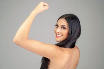 Macarena Castillo también pretende ir a ganar al certamen Miss Bolivia