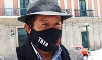 """""""Tata"""" Quispe asegura que solo quedan dos detenidos por caso desfalco al Fondo Indígena"""