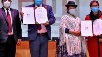 Iván Arias y Eva Copa jurarán como nuevas autoridades ediles hoy