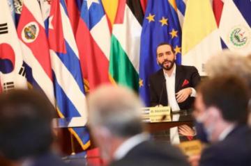 Bukele cita a embajadores en El Salvador para reclamarles por condena a su país