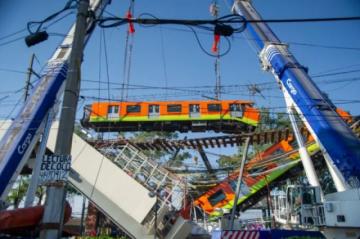 México emprende búsqueda de responsables de accidente en metro capitalino