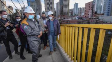 Arias anuncia colocado de malla alta en el puente de Las Américas para reforzar la seguridad