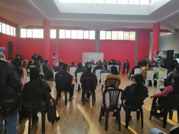 En desarrollo la reunión del COEM en el municipio de Potosí