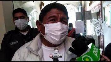 Gobernador de Potosí anuncia reducción del presupuesto departamental