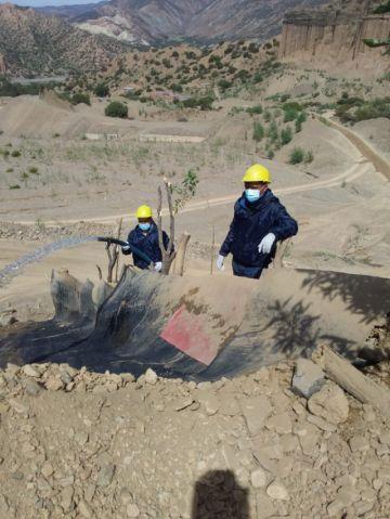 Comunarios en Tupiza incursionan en la explotación de oro