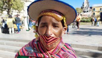 Lidia Patty pide al Gobierno expulsar a la Unión Europea de Bolivia