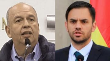 Arturo Murillo y Eduardo Del Castillo intercambian acusaciones por tema narcotráfico