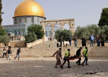 Los hospitales de Jerusalen-Este se llenan de heridos palestinos tras enfrentamientos