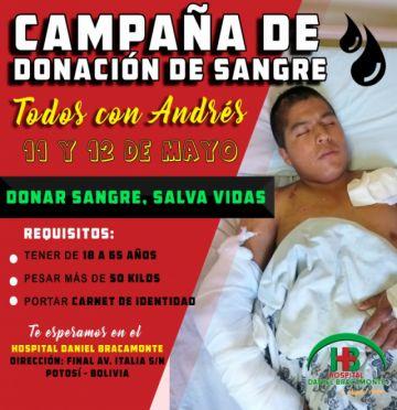 Hospital Bracamonte desarrolla campaña para captar donadores de sangre