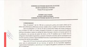 Revise el Decreto Municipal sobre las restricciones vigentes para mayo 2021