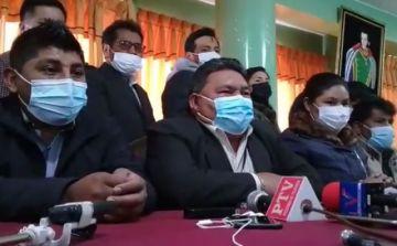 'Gran Cuartel' de El Alto sale en defensa de Santos Quispe y lanza advertencia a Chui