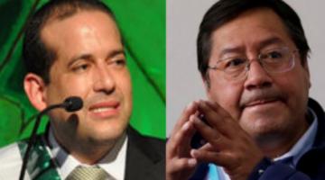 Camacho pide reunión a Arce para dialogar sobre la crisis sanitaria, económica y el censo