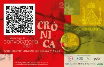Esta es la  convocatoria a la tercera versión del Premio Nacional de Crónica BAOV