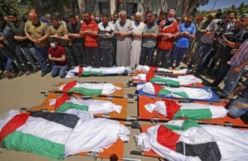 Mueren en Gaza en bombardeo israelí diez personas de la misma familia