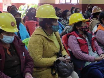 Ministerio de Justicia socializó en Oruro y Potosí las propuestas modificatorias a la Ley 348