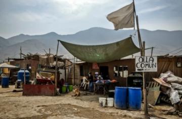 Pobreza sube 10 puntos en Perú por pandemia y alcanza al 30% de la población