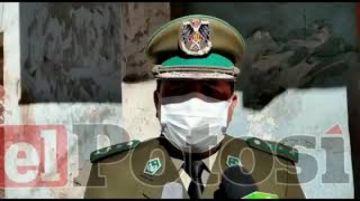 Policía usó gas lacrimógeno para dispersar una pelea campal en Huari Huari