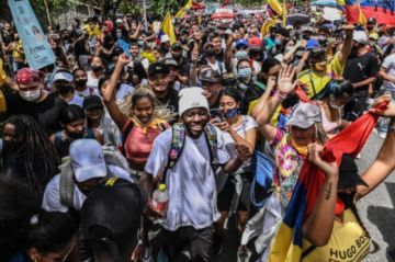 Colombia en crisis: los rostros jóvenes del descontento