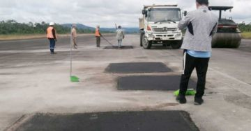 Montaño afirma que hay más del 90% de avance en supervisión para reapertura del aeropuerto de Chimoré