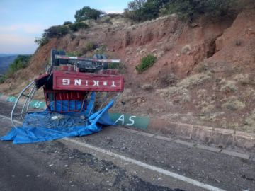 Dos accidentes de tránsito en Potosí causan tres personas heridas