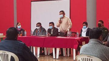 En desarrollo del COEM en Potosí ante el incremento de casos covid