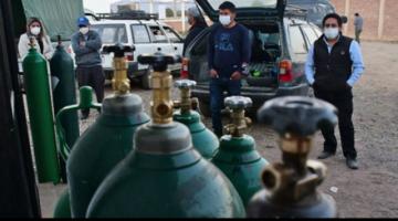 Covid-19: Se acaba el oxígeno para tratar a pacientes en hospitales de Cochabamba y Oruro