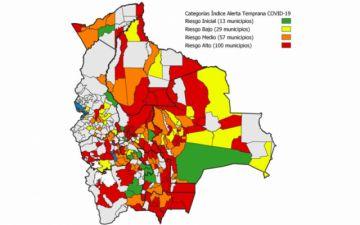 Sube a 100 la cantidad de municipios en Riesgo Alto de contagios COVID-19