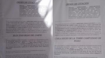 Fiscalía amplía investigación y convoca nuevamente a declarar al coronel Rojas y su esposa