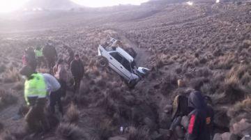 Accidente de tránsito deja un muerto y dos heridos en Potosí