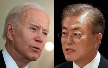 Biden recibe a su par surcoreano, reforzando la alianza EEUU-Asia