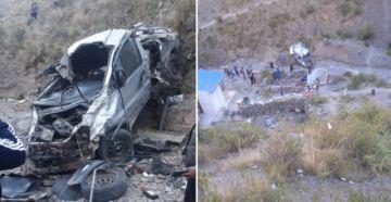 Tres de los fallecidos en un accidente de tránsito eran funcionarios de la gobernación