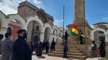 Potosinos rinden homenaje a la Batalla del Alto de la Alianza
