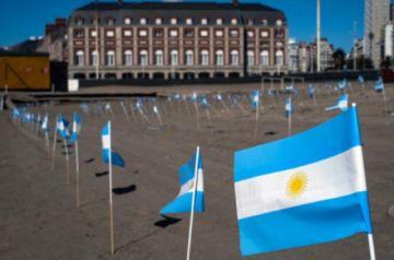 Argentina supera los 75.000 muertos por covid-19
