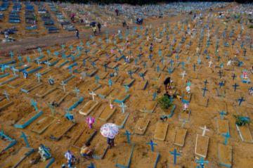 Brasil supera los 450.000 muertos por covid y teme una tercera ola
