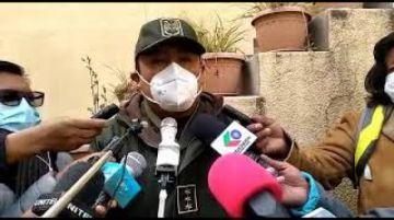 Policía caminera realiza controles de SOAT en lugares estratégicos