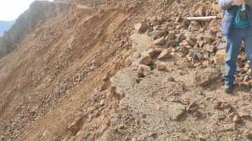Confirman hundimientos recientes en el Cerro Rico de Potosí