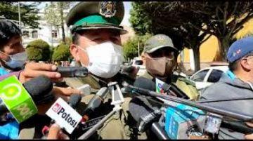 Diprove Potosí recupera un vehículo robado y detiene a cuatro personas