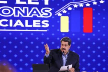 """Maduro pide """"levantamiento inmediato"""" de sanciones en negociación con la oposición"""